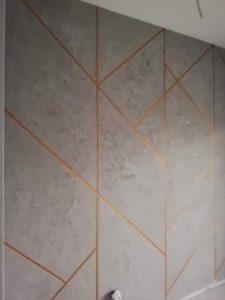 przykładowe wykonanie - widok ściany